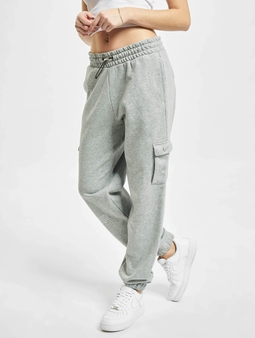 Nike W Nsw Swsh Pant Ft Mr Dk Grey Heather/White