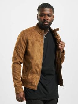 Jack & Jones jjeRocky Noos Jacket Cognac/Fake Suede
