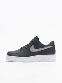 Nike Air Force 1 '07 3M Sneakers Anthracite/Silvern/University Red/White