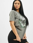 Missguided The Wanderer Eagle Graphic T-Shirt Dark Grey image number 0