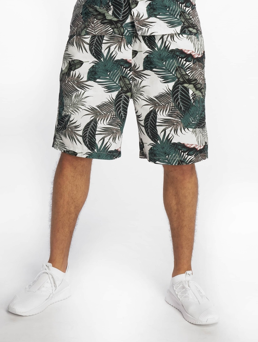 Urban Classics Pattern Resort Shorts Palm Leaves image number 2