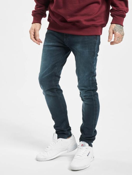 Jack & Jones jjiLiam Jjoriginal Agi 004 Skinny Jeans Blue Denim image number 2