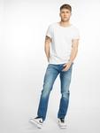 Jack & Jones jjiTim jjLeon Slim Fit Jeans Blue Denim image number 5