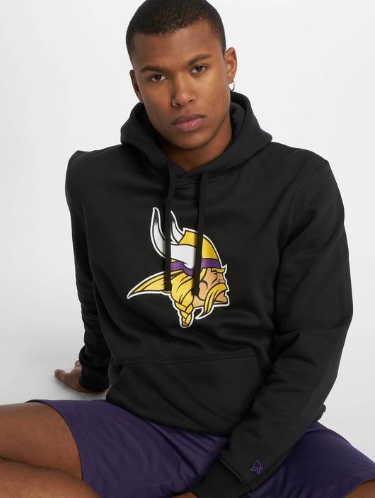 New Era Team Minnesota Vikings Logo Hoody Black image number 0