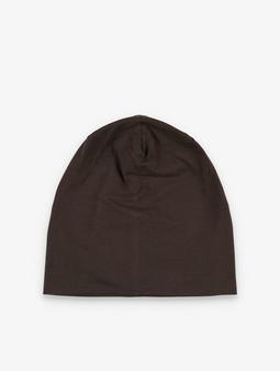 Masterdis Jersey Beanie Brown (Standard size brown)