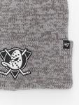 '47 NHL Anaheim Ducks Brain Freeze Cuff Knit Beanie Dark Grey image number 1