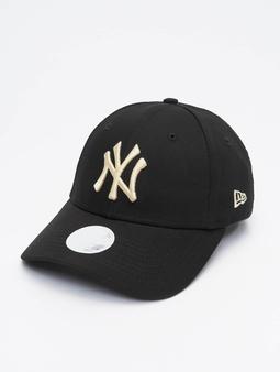 New Era MLB NY Yankees Womens League Essential Snapback Caps svart