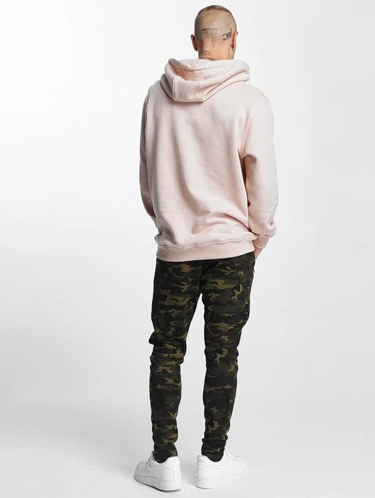 Urban Classics Interlock Camo Sweatpants Wood Camouflage image number 3