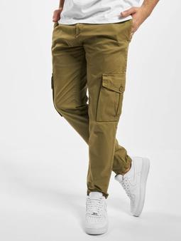 Urban Classics Tapered  Chino bukser oliven
