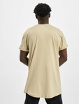 Urban Classics Long Shaped Turnup T-Shirt Grey image number 1