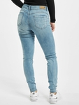 Rock Angel Skinny Jeans Light Blue Denim L143 image number 1