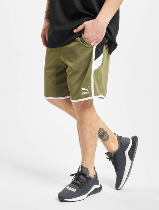 Puma Iconic MCS 8` Shorts Burnt Olive image number 0