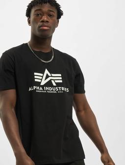 Alpha Industries Basic Kryptonite  T-skjorter svart