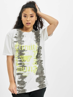 Missguided Tie Dye Butterfly Oversized Graphic T-Shirt