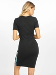 Urban Classics Multicolor Side Taped Dress Black image number 1