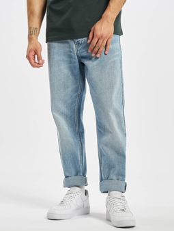 Carhartt WIP Newel Pants Blue Light Used Wash