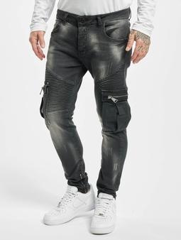VSCT Clubwear Knox Biker Cargo Tynne bukser svart