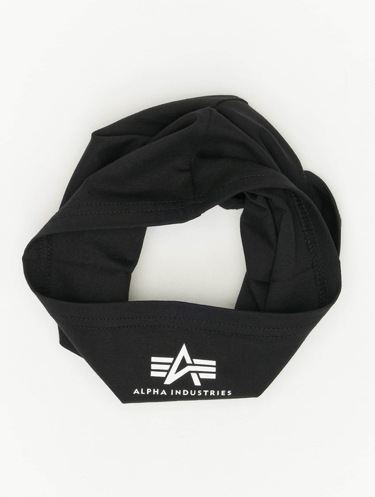 Alpha Industries Basic Tube Mask Black/White image number 3
