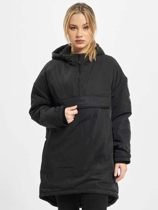 Urban Classics Ladies Long Oversized Pull Over Winter Jackets image number 2