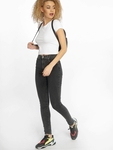 Urban Classics Stretch Jersey Cropped T-Shirt Black image number 3