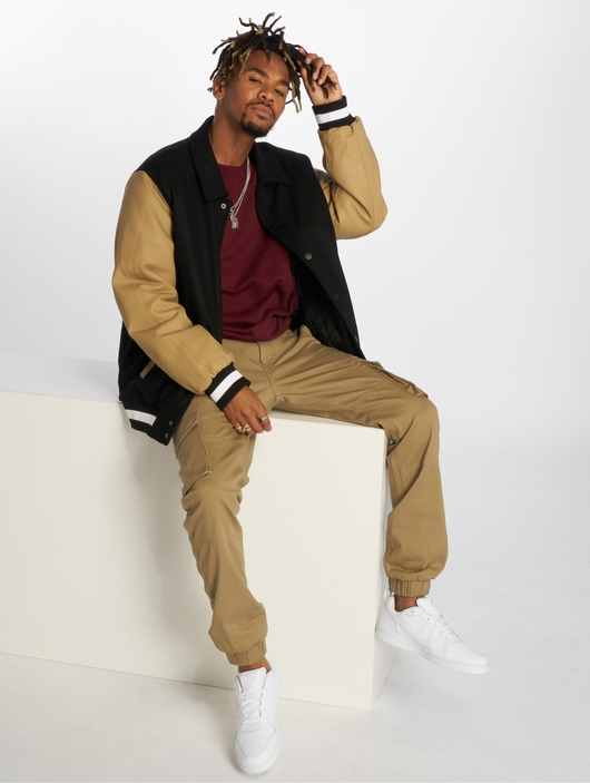 Urban Classics Collar College College Jackets image number 4