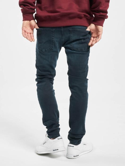 Jack & Jones jjiLiam Jjoriginal Agi 004 Skinny Jeans Blue Denim image number 1