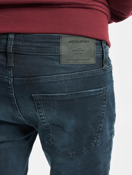 Jack & Jones jjiLiam Jjoriginal Agi 004 Skinny Jeans Blue Denim image number 4