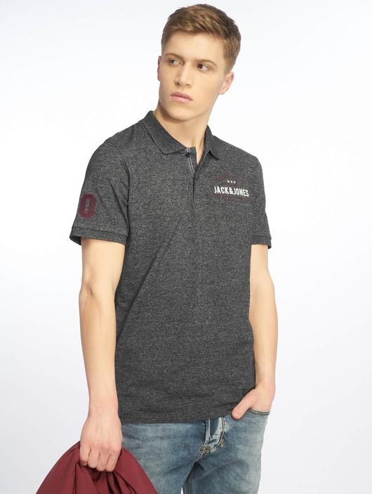 Jack & Jones jjeJeans Polo Shirt Black image number 0