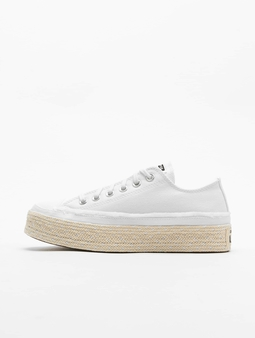 Converse CTAS Espadrille OX Sneakers White/Black/Natural