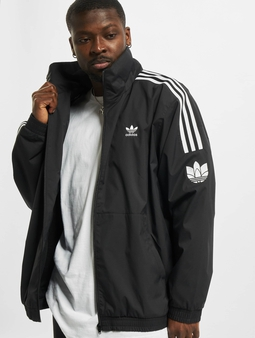 Adidas Originals 3D Trefoil 3 Stripes Track Jacket Black