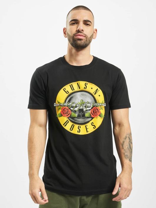 Mister Tee GunsÁn Roses Logo T-Shirt Black image number 2