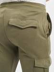 Urban Classics Fitted Cargo Sweatpants Olive image number 4
