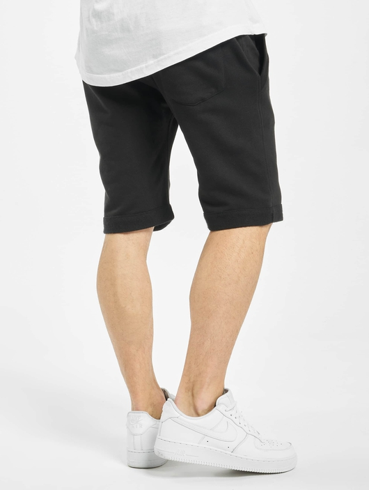 Urban Classics Light Turnup Sweat Shorts Black image number 1