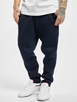 Urban Classics Cut And Sew Joggebukser blå