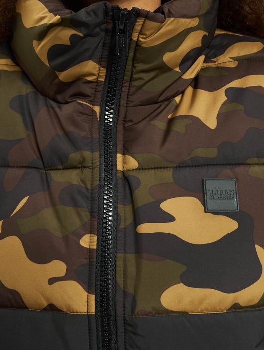 Urban Classics 2 Tone Basic  Puffer Jackets image number 3