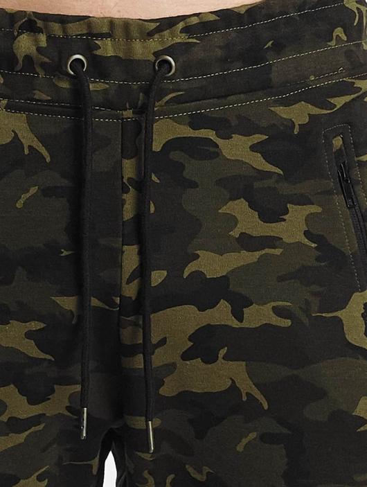 Urban Classics Interlock Camo Sweatpants Wood Camouflage image number 5