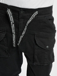 Vsct Clubwear Norman Baggy Cargo Pants Black image number 3