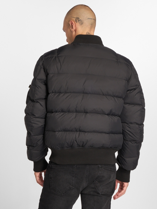 Alpha Industries MA-1 Puffer Jacket Black image number 4