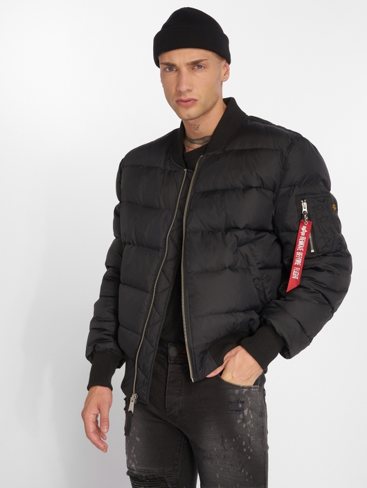 Alpha Industries MA-1 Puffer Jacket Black image number 0