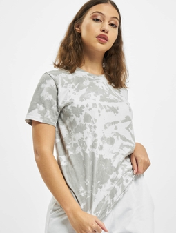 Missguided Tie Dye Socialite Earth Graphic Short Sleeve T-Shirt