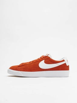 Nike Blazer Low Suede Sneakers Mantra Orange/White/White