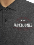 Jack & Jones jjeJeans Polo Shirt Black image number 4