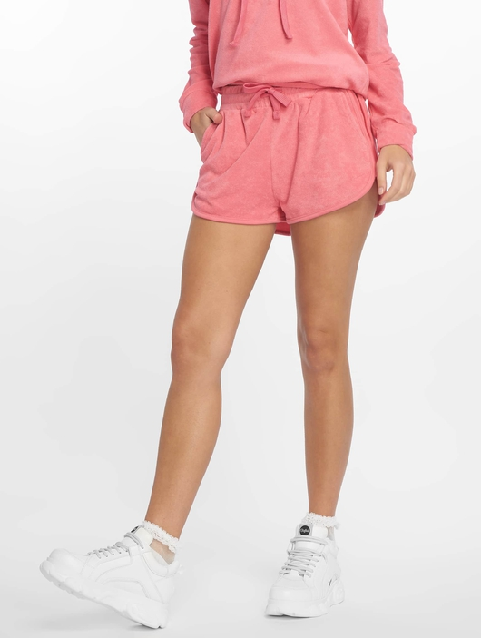 Urban Classics Towel Hot Pants Shorts Black image number 2