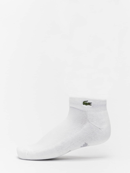Lacoste Socks White/Silver Chine