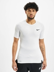Nike Pro Short Sleeve Tight Compressionsshirt Black/White image number 2