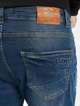 VSCT Clubwear Keanu Slim Fit Jeans Blue Rinsed image number 4