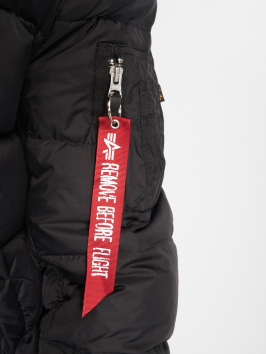 Alpha Industries MA-1 Puffer Jacket Black image number 2