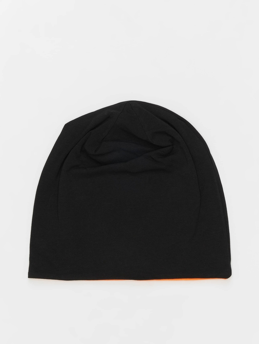 MSTRDS Jersey Reversible Beanie Black/Neon Orange image number 0