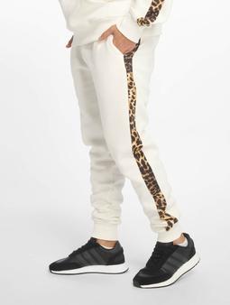 Criminal Damage Leo Sweat Pants Off White/Multi