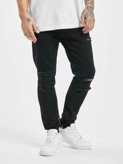 2Y Bert Slim Fit Jeans Black